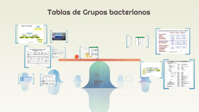 Tabla De Grupos Microbianos Clasificación Y Generalidades