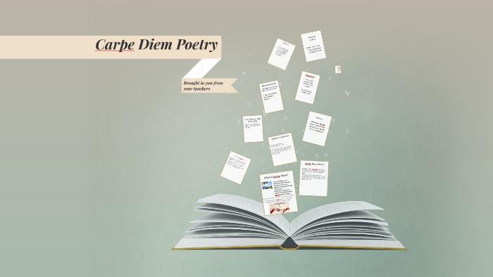 carpe diem poem