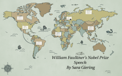 faulkner nobel speech analysis
