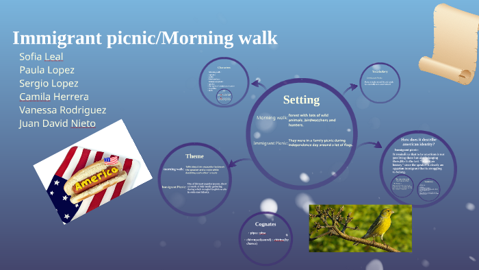 Immigrant Picnicmorning Walk By Isabella Leal On Prezi