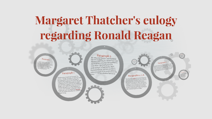 Margaret Thatcher 039 S Eulogy Regarding Ronald Reagan By Nicole Rybak