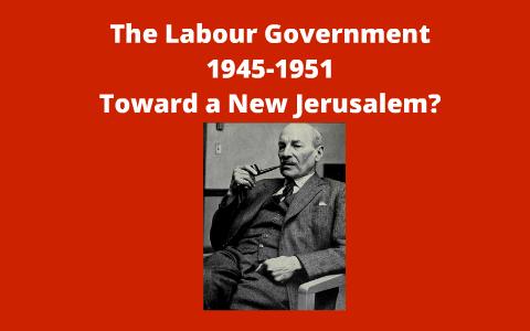 labour government 1945