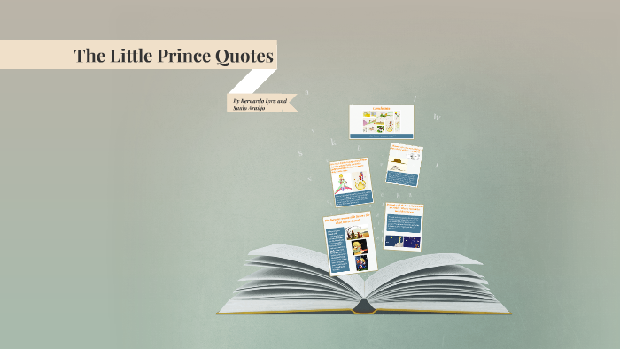 The Little Prince Quotes By Bernardo Lyra