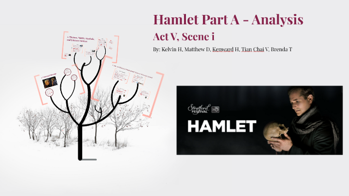 hamlet act 5 literary devices