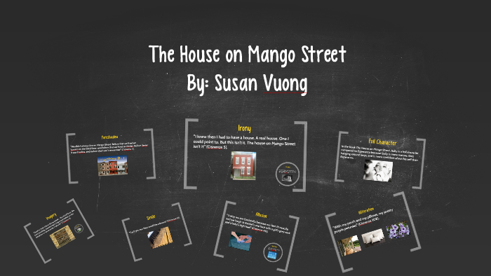 The House On Mango Street Literary Devices Elements By Susan Vuong