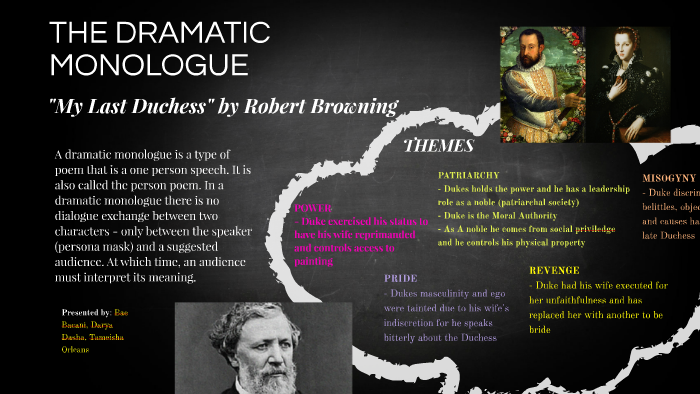 critical appreciation of my last duchess by robert browning