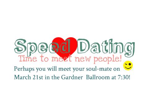 Veel vertaalde voorbeeldzinnen bevatten speed dating session.
