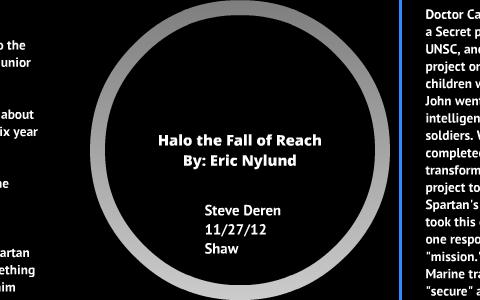 Halo The Fall Of Reach By Steve Deren On Prezi