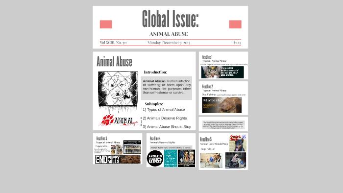 Global Issue: Animal Abuse by Asha Nagarajah on Prezi