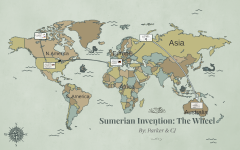 Sumerian Invention: The Wheel by CJ Dean on Prezi on babylon world map, aztec world map, persia world map, africa world map, china world map, america world map, japan world map, lemuria world map, inca world map, france world map, portugal world map, judea world map, planet of the apes world map, germany world map, uruk world map, rome world map, arabia world map, ancient egypt world map, mesopotamia world map, ur world map,