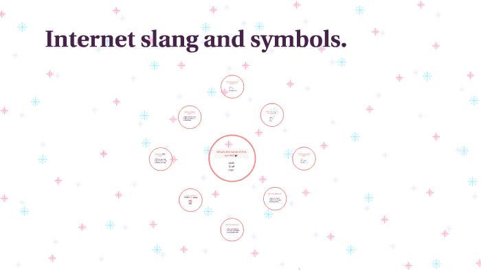 Internet slang and symbols. by Raquel Rico on Prezi Next