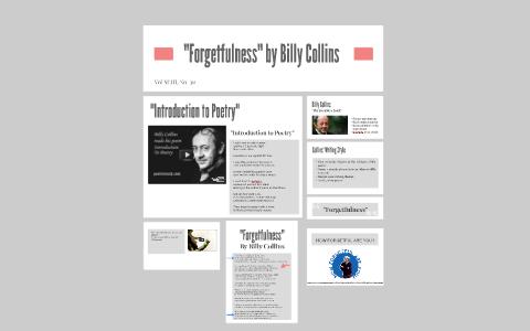forgetfulness collins