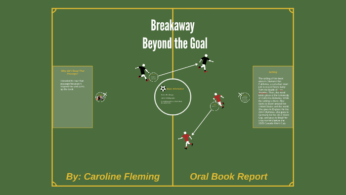 the goal book report
