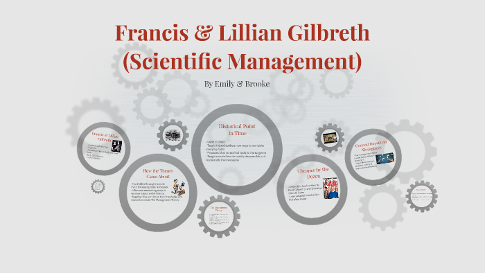 frank and lillian gilbreth scientific management