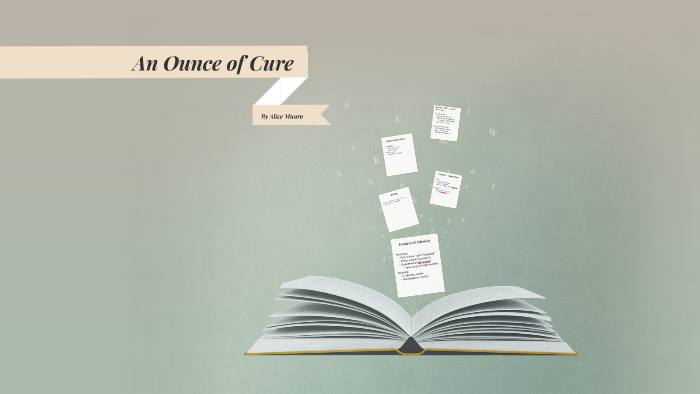 an ounce of cure conflict