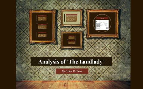 the landlady setting