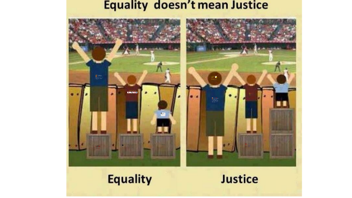 Equality Doesnt Mean Justice >> Equity Audits The Contributions Of Linda Skrla And James Sc By