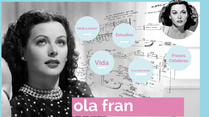 Hedy Lamarr By álex Muñoz Soler On Prezi Next