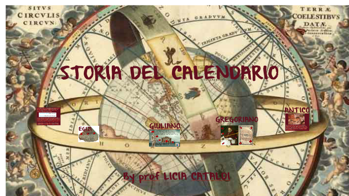 Storia Del Calendario.Storia Del Calendario By Licia Cataldi On Prezi