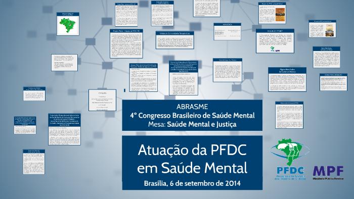 ABRASME - 4ºCongresso Brasileiro de Saúde Mental by CCI PFDC