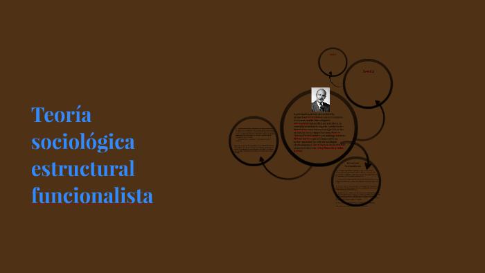 Teoría Sociológica Estructural Funcionalista By Johana