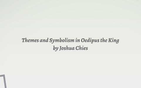 symbols in oedipus rex