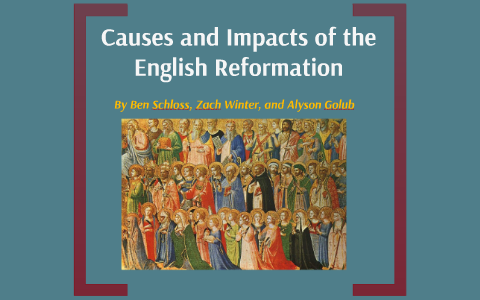 protestant reformation vs english reformation