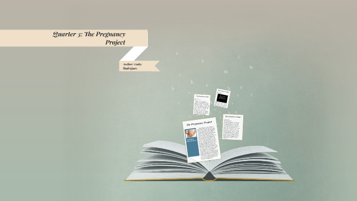 the pregnancy project book