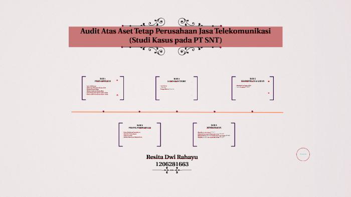 Audit Atas Aset Tetap Perusahaan Jasa Telekomunikasi By Resita Dwi