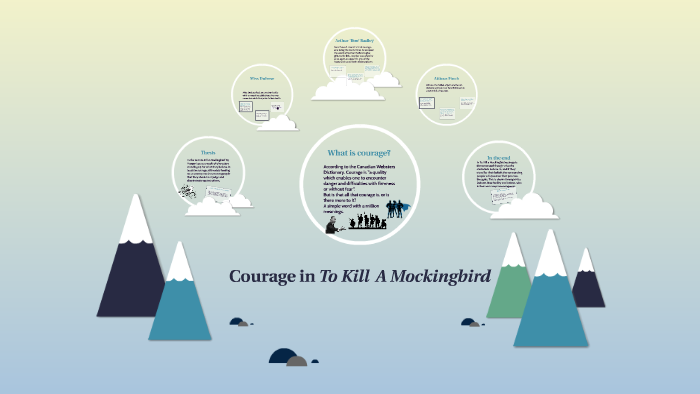 acts of courage in to kill a mockingbird