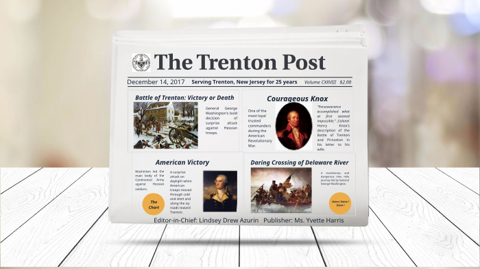 The Battle of Trenton by Lindsey Azurin on Prezi Next