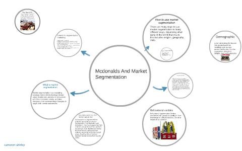 mcdonalds psychographics