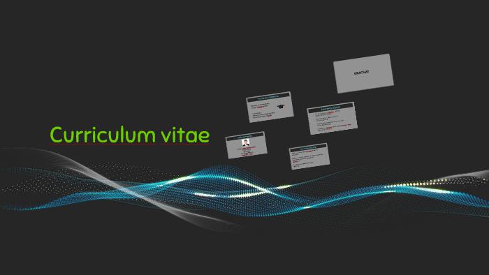 Curriculum Vitae By Rodrigo Velasquez Kanaudt On Prezi