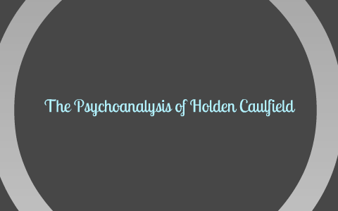 mental and emotional symptoms of holden caulfield