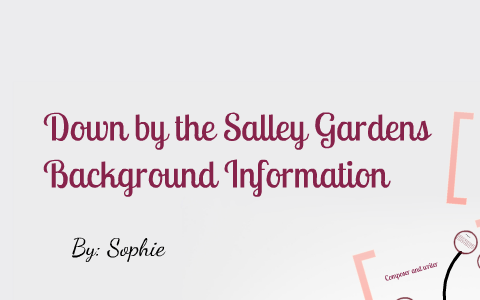 down by the salley gardens analysis