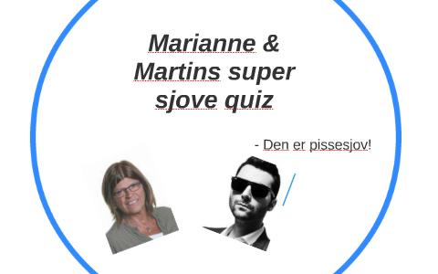 Marianne Martins Super Sjove Quiz By Martin Christensen On Prezi