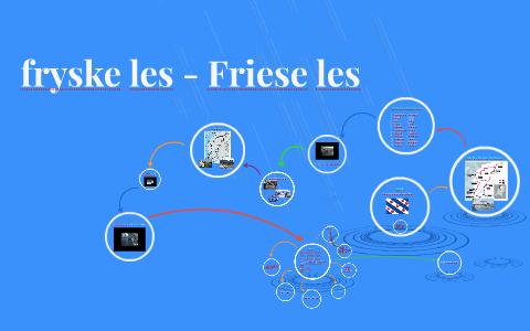 Verbazingwekkend fryske les - Friese les by Judith Verkerk on Prezi EW-52