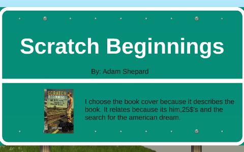 adam shepard scratch beginnings