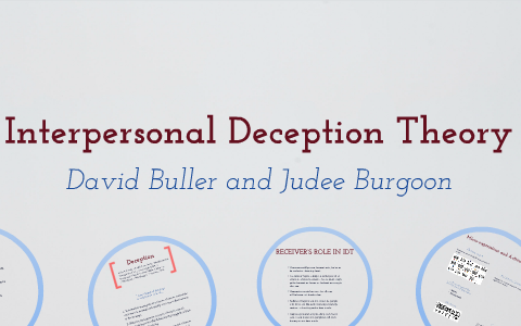 interpersonal deception theory