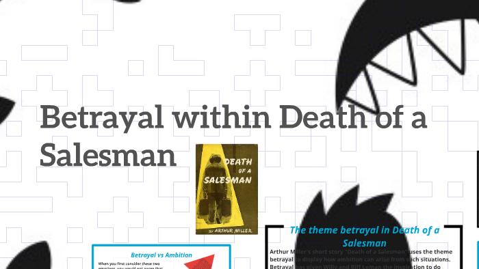 betrayal in death of a salesman