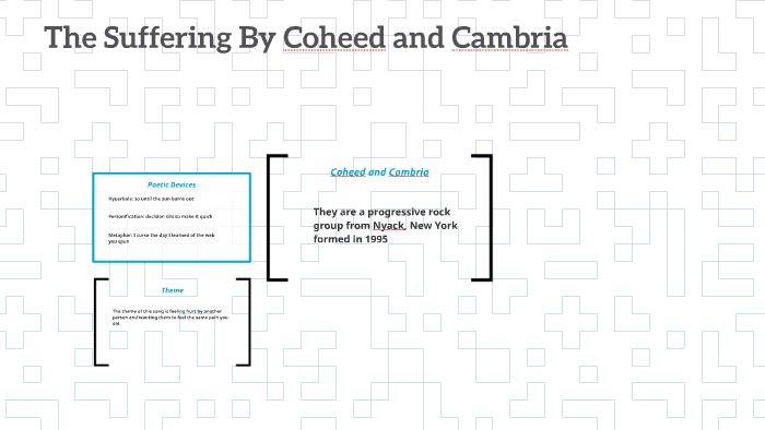 The Suffering By Coheed and Cambria by Damian West on Prezi