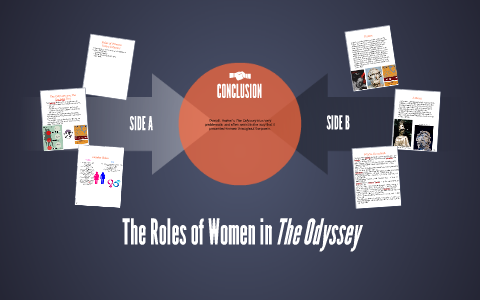 role of women in the odyssey