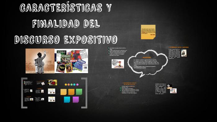Características Y Finalidad Del Discurso Expositivo By Yasna