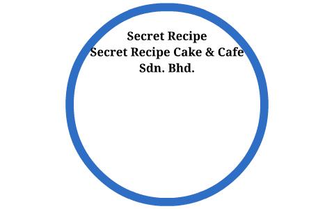secret recipe sdn bhd