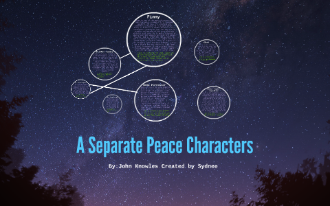 a separate peace mr prud homme