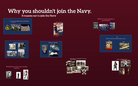 reasons to join the navy