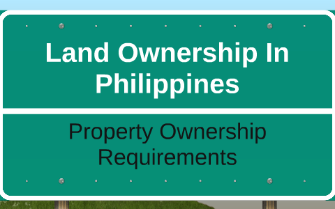 Land Ownership In Philippines by Rene Mendoza on Prezi