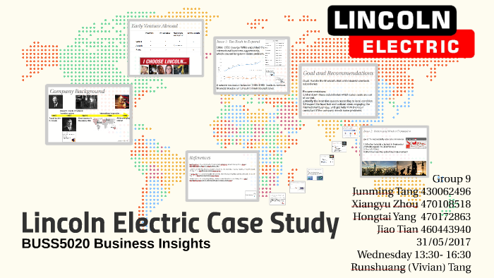 lincoln electric indonesia joint venture