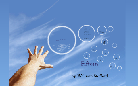 fifteen by william stafford theme