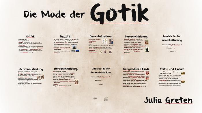 bc37a638b1daa Die Mode der by Julia Greten on Prezi